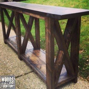 Farm Style Sofa Table