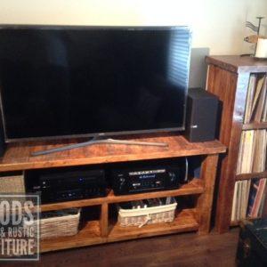 Rustic TV Console